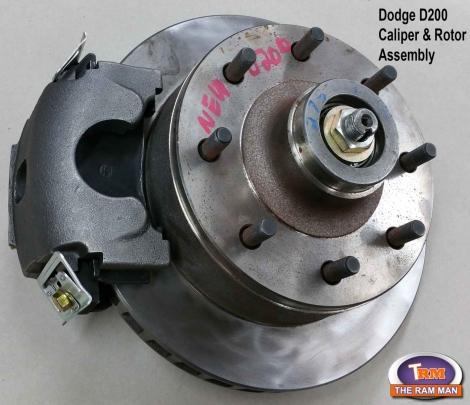 Ram Man / Shop / 1961-1971 DODGE D200 FRONT POWER DISC BRAKE
